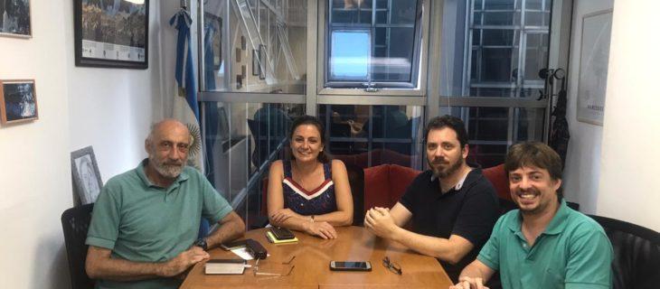 Reunión Federación Judicial Argentina – Fe Sitraju
