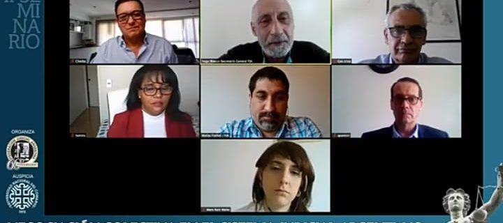 Comenzó el Seminario sobre Negociación Colectiva en el Sistema Judicial argentino