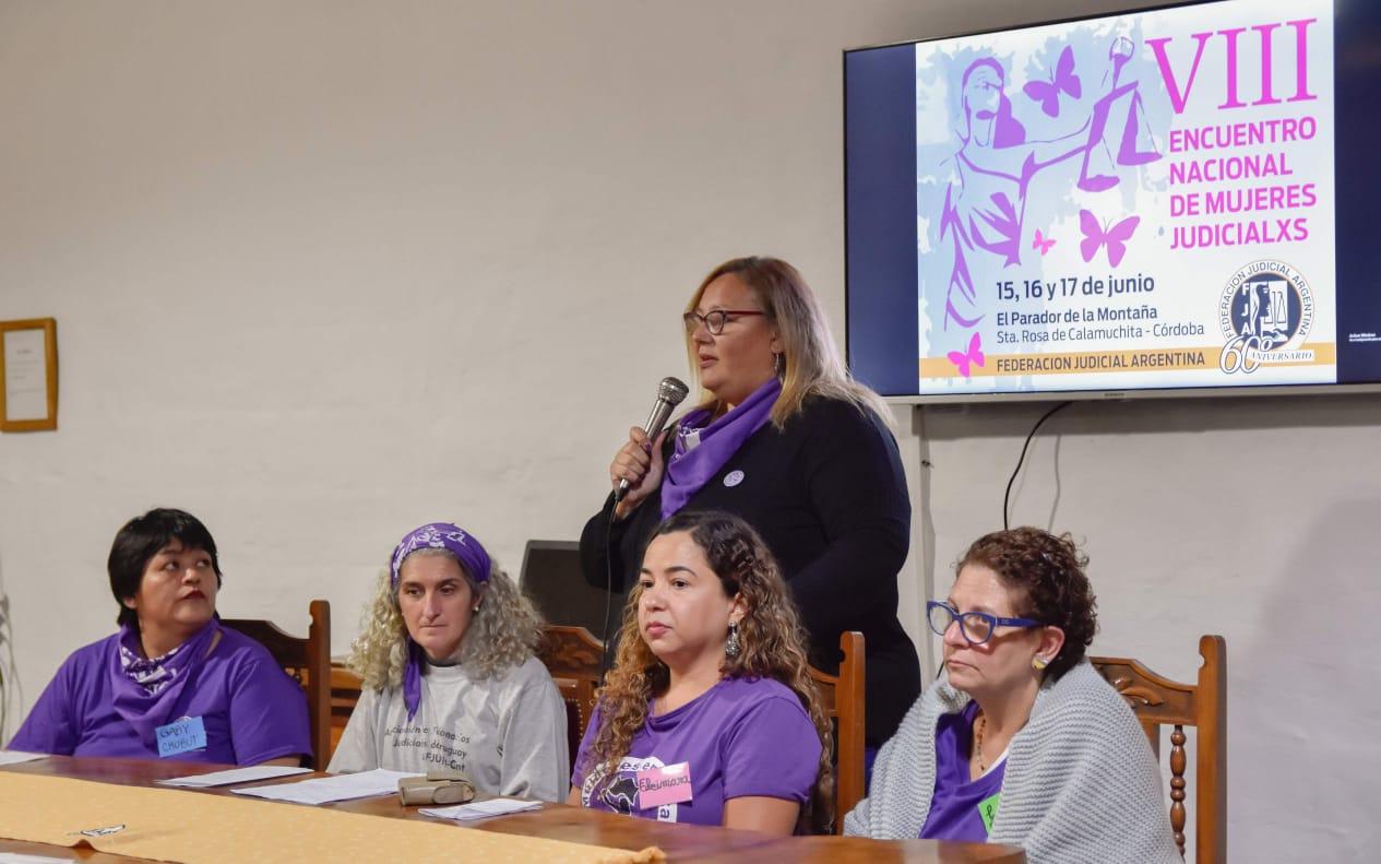 VIII ENCUENTRO NACIONAL DE MUJERES JUDICIALXS DE LA FJA