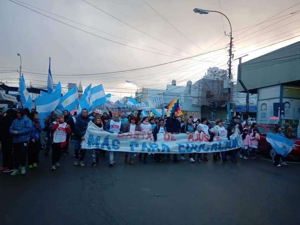 Conflicto de lxs trabajadorxs del Estado de Chubut